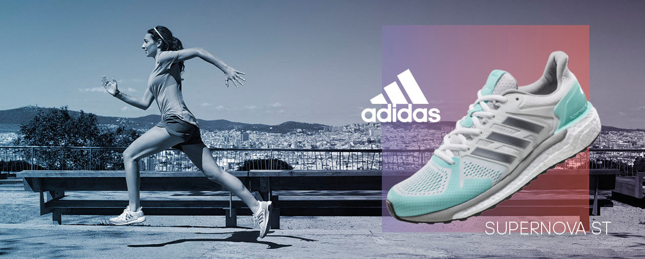 Adidas Supernova ST M Blau Schwarz | Trends Sport