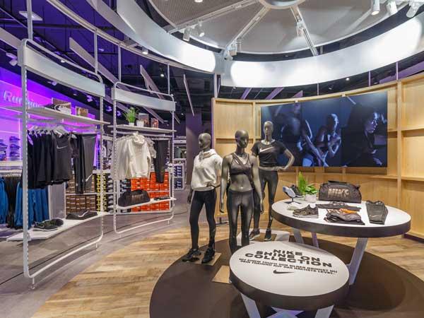 Action Place im INTERSPORT-Store im Alexa