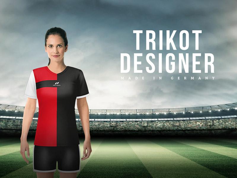 Banner zum PRO TOUCH-Trikotdesigner