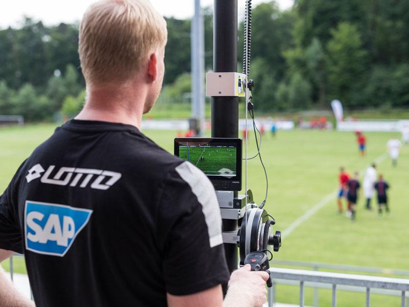 Kameraaufzeichnung beim INTERSPORT-Proficheck